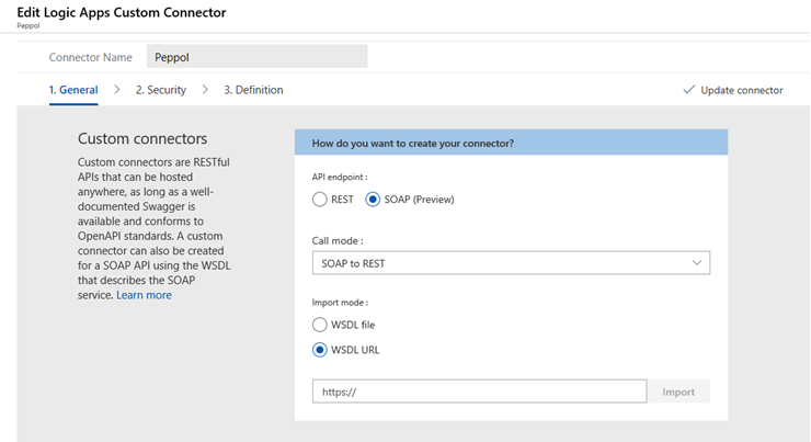 Azure: Setting Up a Custom Connector for Logic Apps